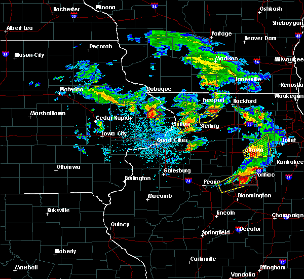 Radar Image for Severe Thunderstorms near Ohio, IL at 5/23/2020 2:20 PM CDT