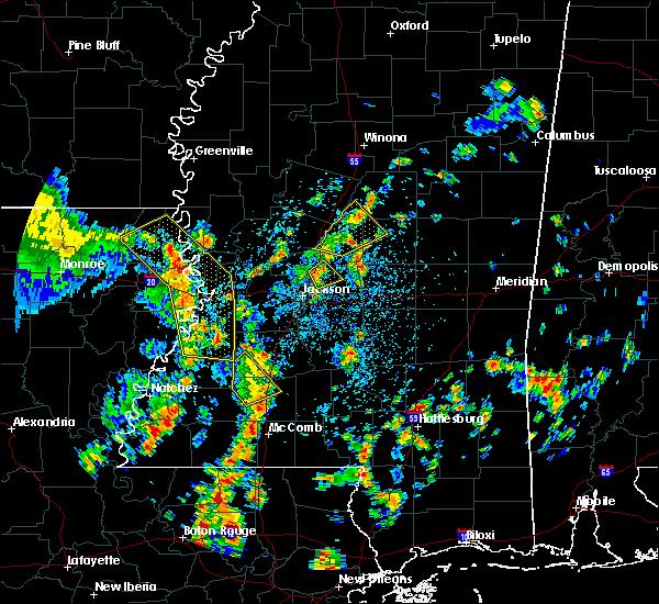Radar Image for Severe Thunderstorms near Ridgeland, MS at 5/23/2020 2:25 PM CDT