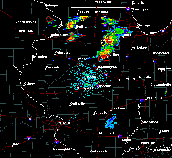 Radar Image for Severe Thunderstorms near Pontiac, IL at 5/23/2020 2:28 PM CDT