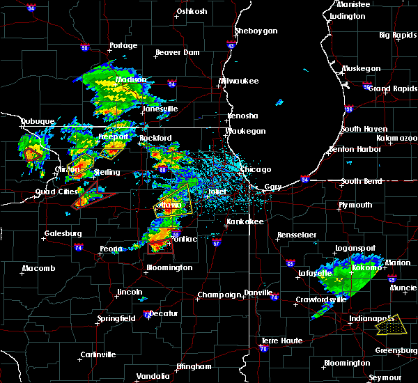 Radar Image for Severe Thunderstorms near Yorkville, IL at 5/23/2020 2:27 PM CDT