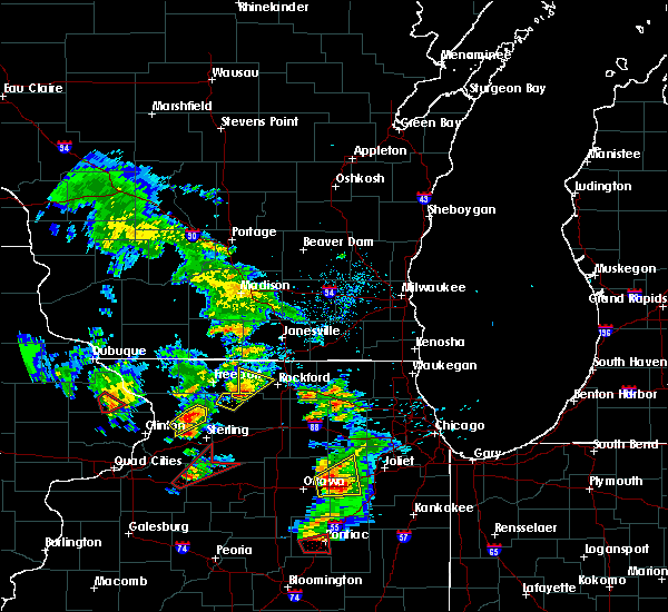 Radar Image for Severe Thunderstorms near Rockford, IL at 5/23/2020 2:29 PM CDT