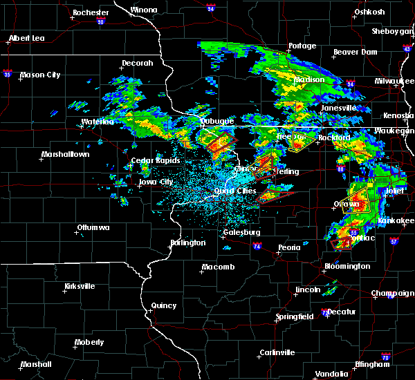 Radar Image for Severe Thunderstorms near Ohio, IL at 5/23/2020 2:35 PM CDT