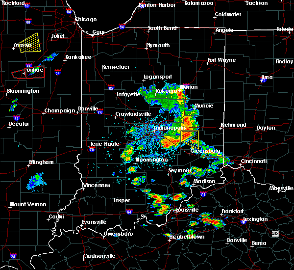 Radar Image for Severe Thunderstorms near Mount Auburn, IN at 5/23/2020 3:41 PM EDT