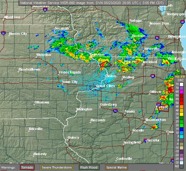 Radar Image for Severe Thunderstorms near Elizabeth, IL at 5/23/2020 3:08 PM CDT
