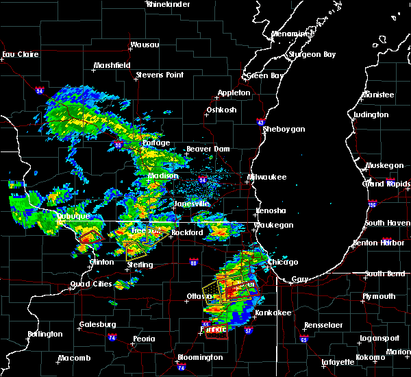 Radar Image for Severe Thunderstorms near Rockton, IL at 5/23/2020 3:12 PM CDT