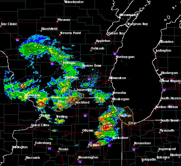 Radar Image for Severe Thunderstorms near Rockton, IL at 5/23/2020 3:30 PM CDT