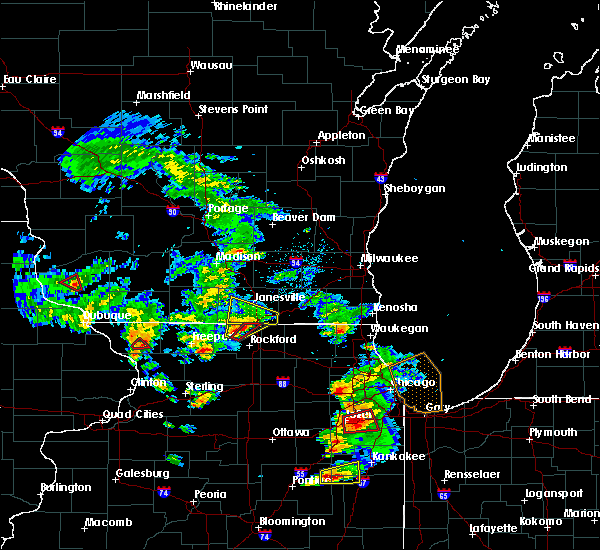 Radar Image for Severe Thunderstorms near Rockton, IL at 5/23/2020 3:33 PM CDT