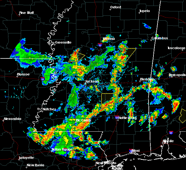 Radar Image for Severe Thunderstorms near Bay Springs, MS at 5/23/2020 3:37 PM CDT