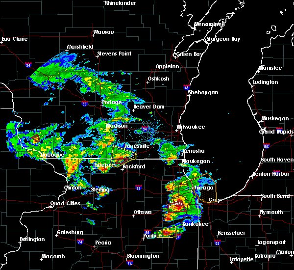 Radar Image for Severe Thunderstorms near Rockton, IL at 5/23/2020 3:46 PM CDT