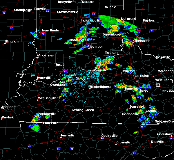 Radar Image for Severe Thunderstorms near Bedford, KY at 5/23/2020 4:47 PM EDT