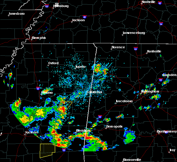 Radar Image for Severe Thunderstorms near Noxapater, MS at 5/23/2020 3:54 PM CDT