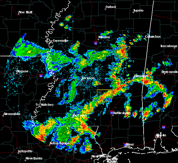 Radar Image for Severe Thunderstorms near Bay Springs, MS at 5/23/2020 4:08 PM CDT