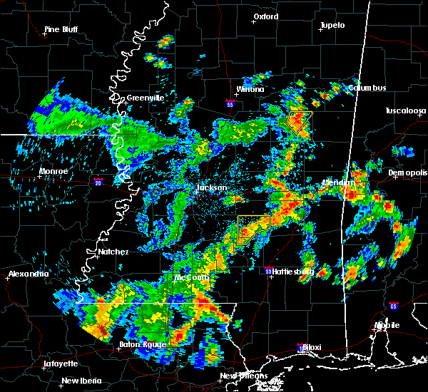 Radar Image for Severe Thunderstorms near Newton, MS at 5/23/2020 4:13 PM CDT