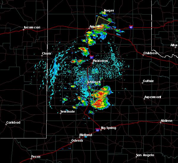 Radar Image for Severe Thunderstorms near Nazareth, TX at 5/23/2020 4:22 PM CDT