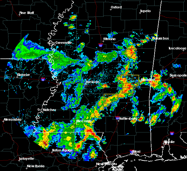 Radar Image for Severe Thunderstorms near Bay Springs, MS at 5/23/2020 4:23 PM CDT