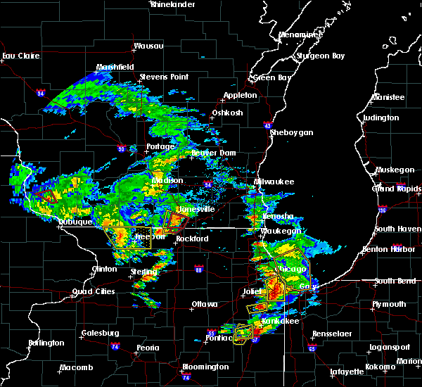 Radar Image for Severe Thunderstorms near Footville, WI at 5/23/2020 4:31 PM CDT