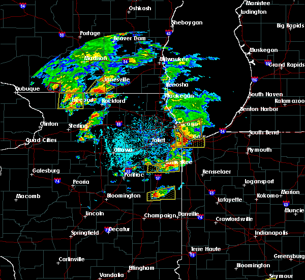 Radar Image for Severe Thunderstorms near Momence, IL at 5/23/2020 4:39 PM CDT