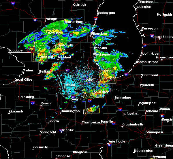Radar Image for Severe Thunderstorms near Herscher, IL at 5/23/2020 4:43 PM CDT