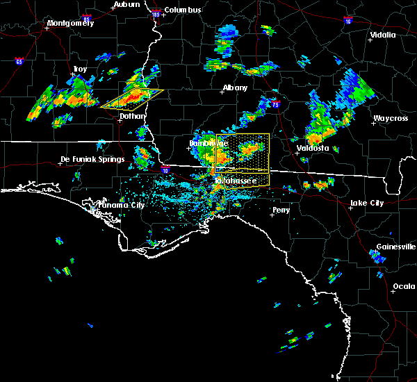 Radar Image for Severe Thunderstorms near Tallahassee, FL at 6/27/2015 3:33 PM EDT