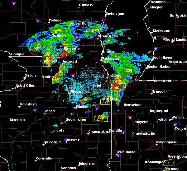 Radar Image for Severe Thunderstorms near Griffith, IN at 5/23/2020 5:00 PM CDT