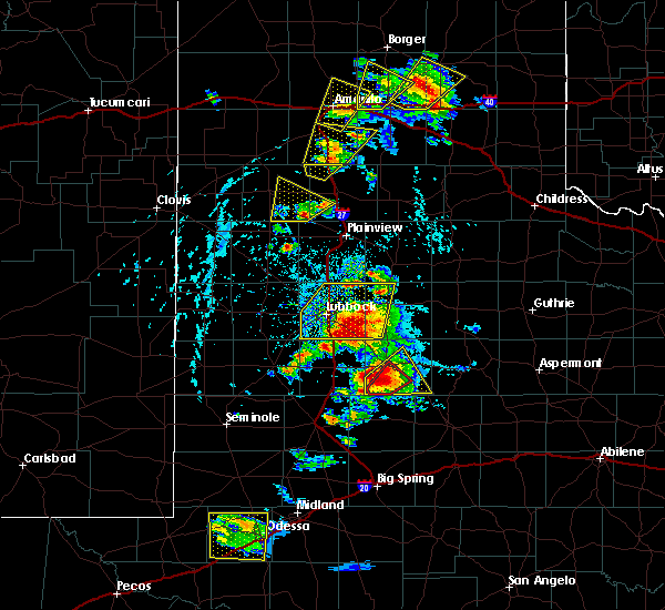 Radar Image for Severe Thunderstorms near Hart, TX at 5/23/2020 5:02 PM CDT