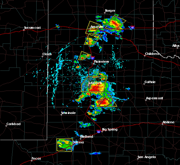Radar Image for Severe Thunderstorms near Post, TX at 5/23/2020 5:07 PM CDT