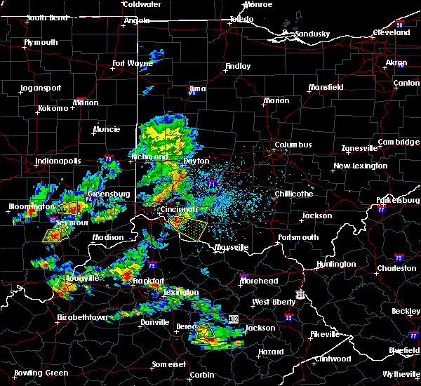 Radar Image for Severe Thunderstorms near California, KY at 5/23/2020 6:11 PM EDT