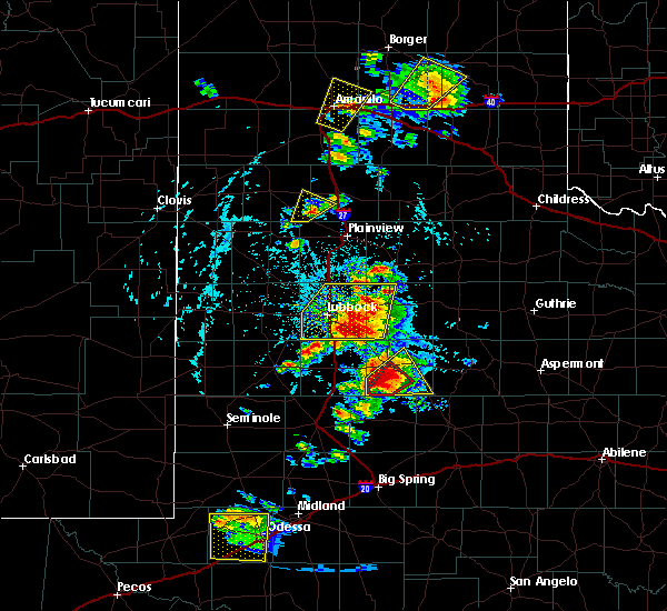 Radar Image for Severe Thunderstorms near Hart, TX at 5/23/2020 5:13 PM CDT