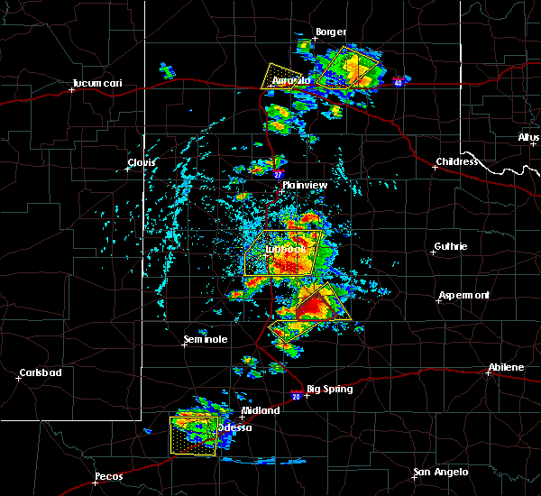 Radar Image for Severe Thunderstorms near Post, TX at 5/23/2020 5:23 PM CDT