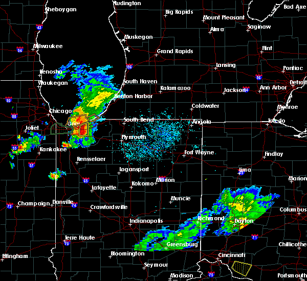 Radar Image for Severe Thunderstorms near New Troy, MI at 5/23/2020 5:38 PM CDT