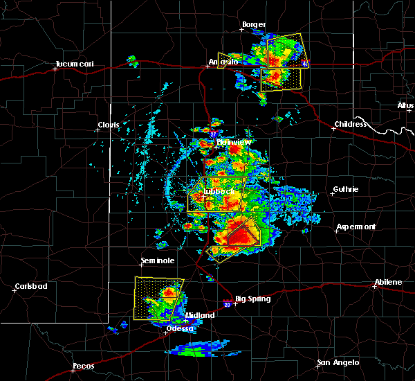 Radar Image for Severe Thunderstorms near Post, TX at 5/23/2020 5:49 PM CDT