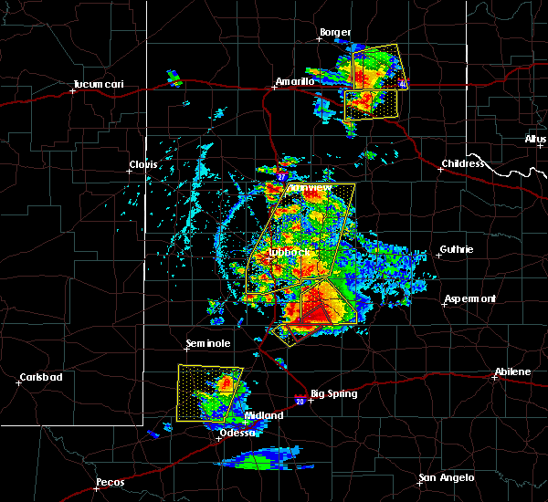 Radar Image for Severe Thunderstorms near New Deal, TX at 5/23/2020 5:56 PM CDT