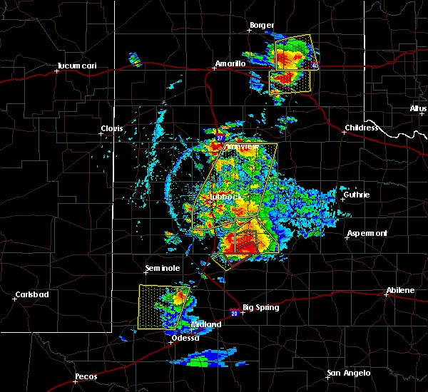 Radar Image for Severe Thunderstorms near Post, TX at 5/23/2020 6:02 PM CDT