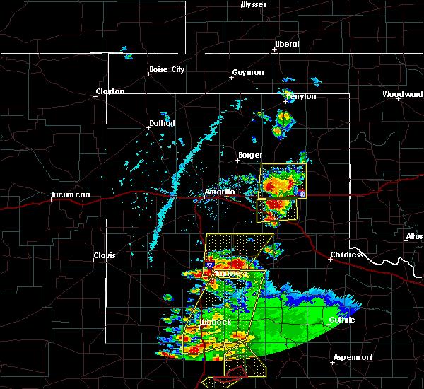 Radar Image for Severe Thunderstorms near Howardwick, TX at 5/23/2020 6:12 PM CDT