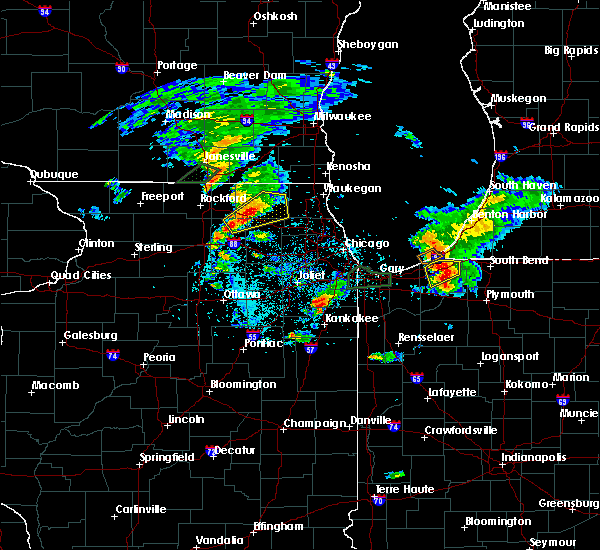 Radar Image for Severe Thunderstorms near Algonquin, IL at 5/23/2020 6:16 PM CDT