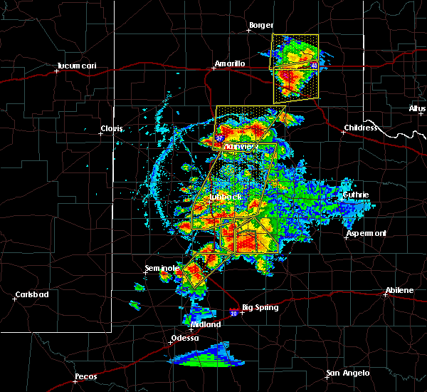 Radar Image for Severe Thunderstorms near Los Ybanez, TX at 5/23/2020 6:24 PM CDT