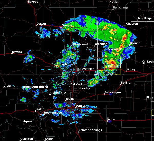Radar Image for Severe Thunderstorms near Dix, NE at 5/23/2020 5:36 PM MDT
