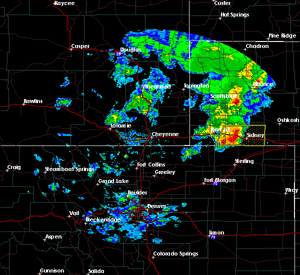 Radar Image for Severe Thunderstorms near Lodgepole, NE at 5/23/2020 6:07 PM MDT