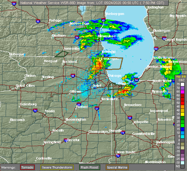 Radar Image for Severe Thunderstorms near Aberdeen, IN at 5/23/2020 7:56 PM CDT