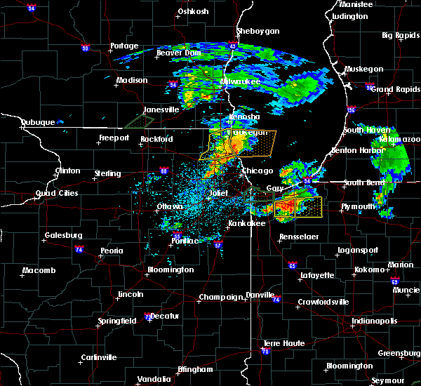 Radar Image for Severe Thunderstorms near Northbrook, IL at 5/23/2020 8:08 PM CDT
