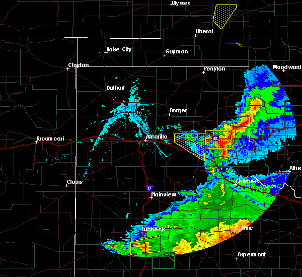 Radar Image for Severe Thunderstorms near Howardwick, TX at 5/23/2020 8:08 PM CDT