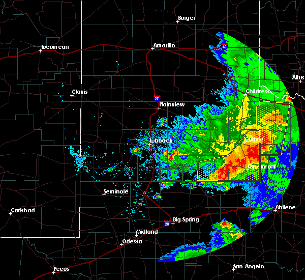 Radar Image for Severe Thunderstorms near Jayton, TX at 5/23/2020 9:02 PM CDT