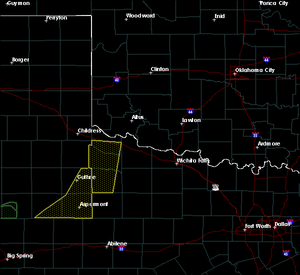 Radar Image for Severe Thunderstorms near Chillicothe, TX at 5/23/2020 9:11 PM CDT