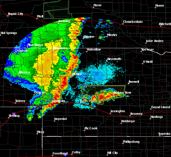 Radar Image for Severe Thunderstorms near Sarben, NE at 5/23/2020 9:47 PM MDT