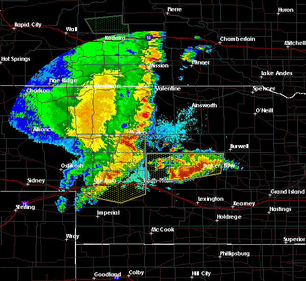 Radar Image for Severe Thunderstorms near Ainsworth, NE at 5/23/2020 11:31 PM CDT