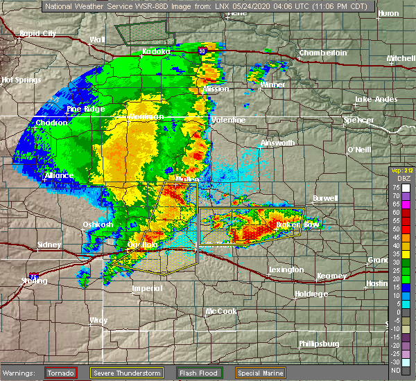 Radar Image for Severe Thunderstorms near Callaway, NE at 5/23/2020 11:33 PM CDT