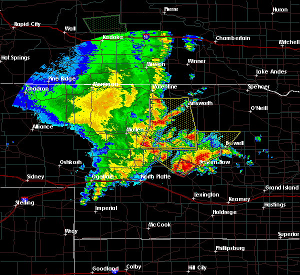 Radar Image for Severe Thunderstorms near Callaway, NE at 5/23/2020 11:38 PM CDT