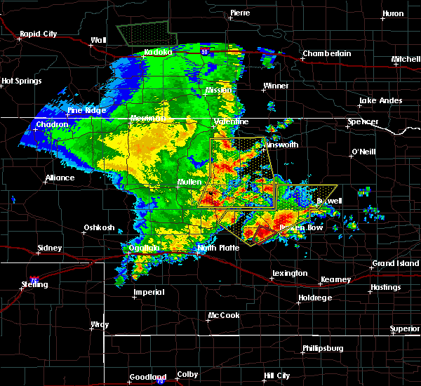 Radar Image for Severe Thunderstorms near Callaway, NE at 5/23/2020 11:40 PM CDT