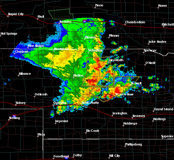 Radar Image for Severe Thunderstorms near Ainsworth, NE at 5/23/2020 11:55 PM CDT