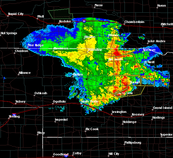 Radar Image for Severe Thunderstorms near Atkinson, NE at 5/24/2020 12:43 AM CDT